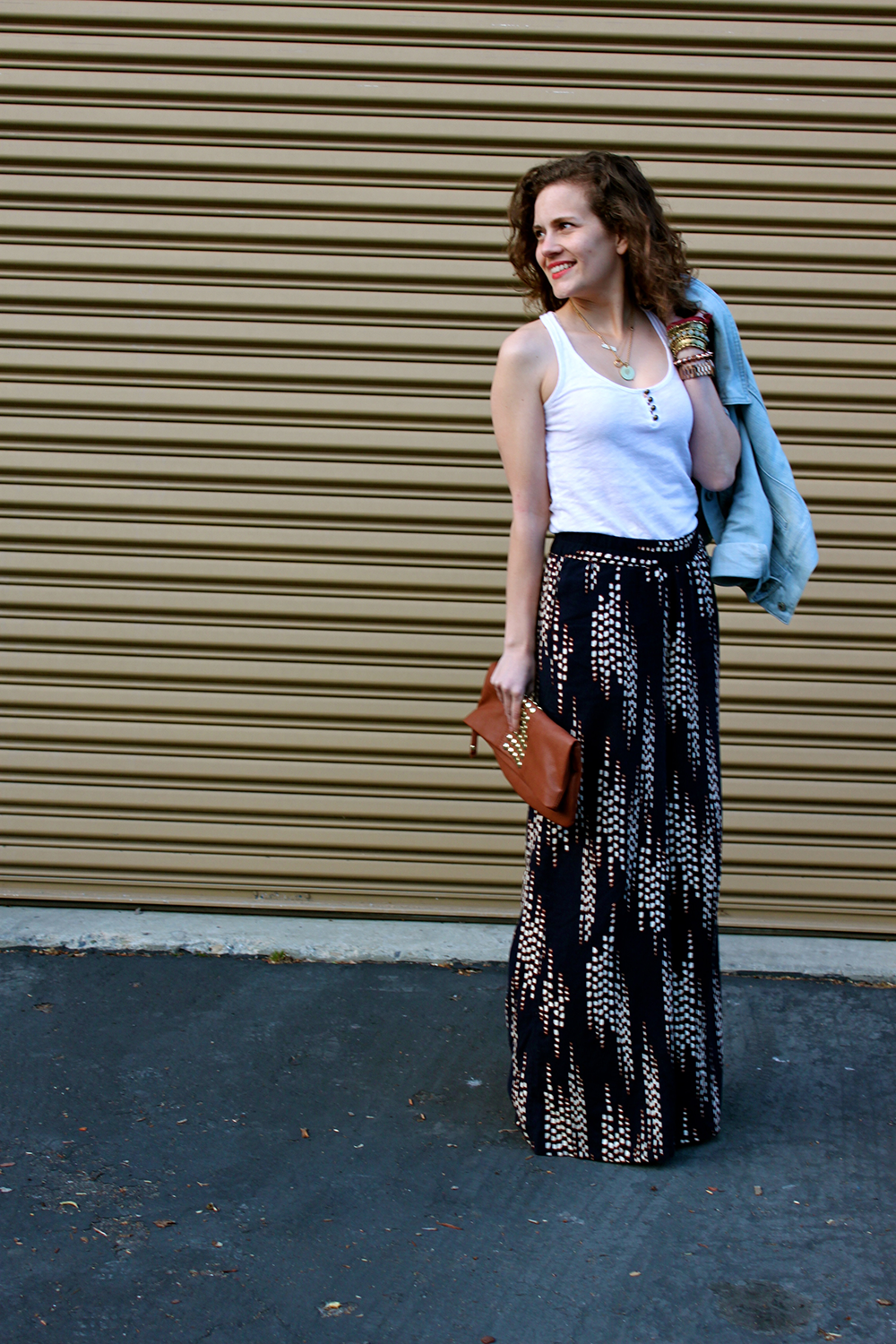 graphic culottes