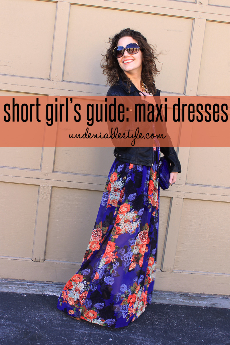 How-To: Petite Maxi Dress - undeniable style — undeniable style