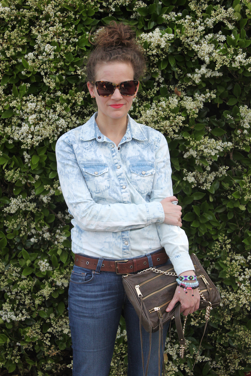 denim on denim for the win!