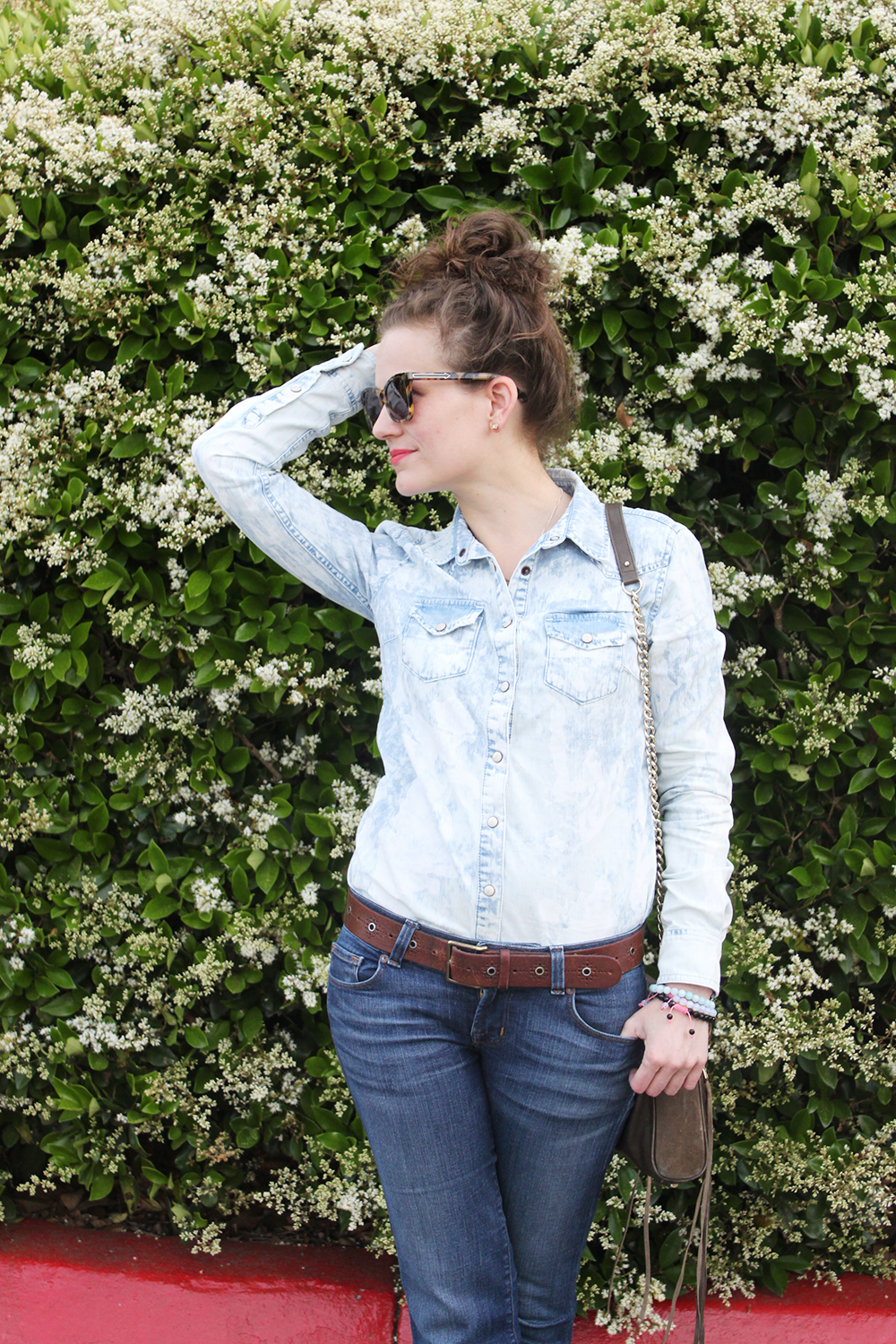 back to basics with denim on denim - undeniable style