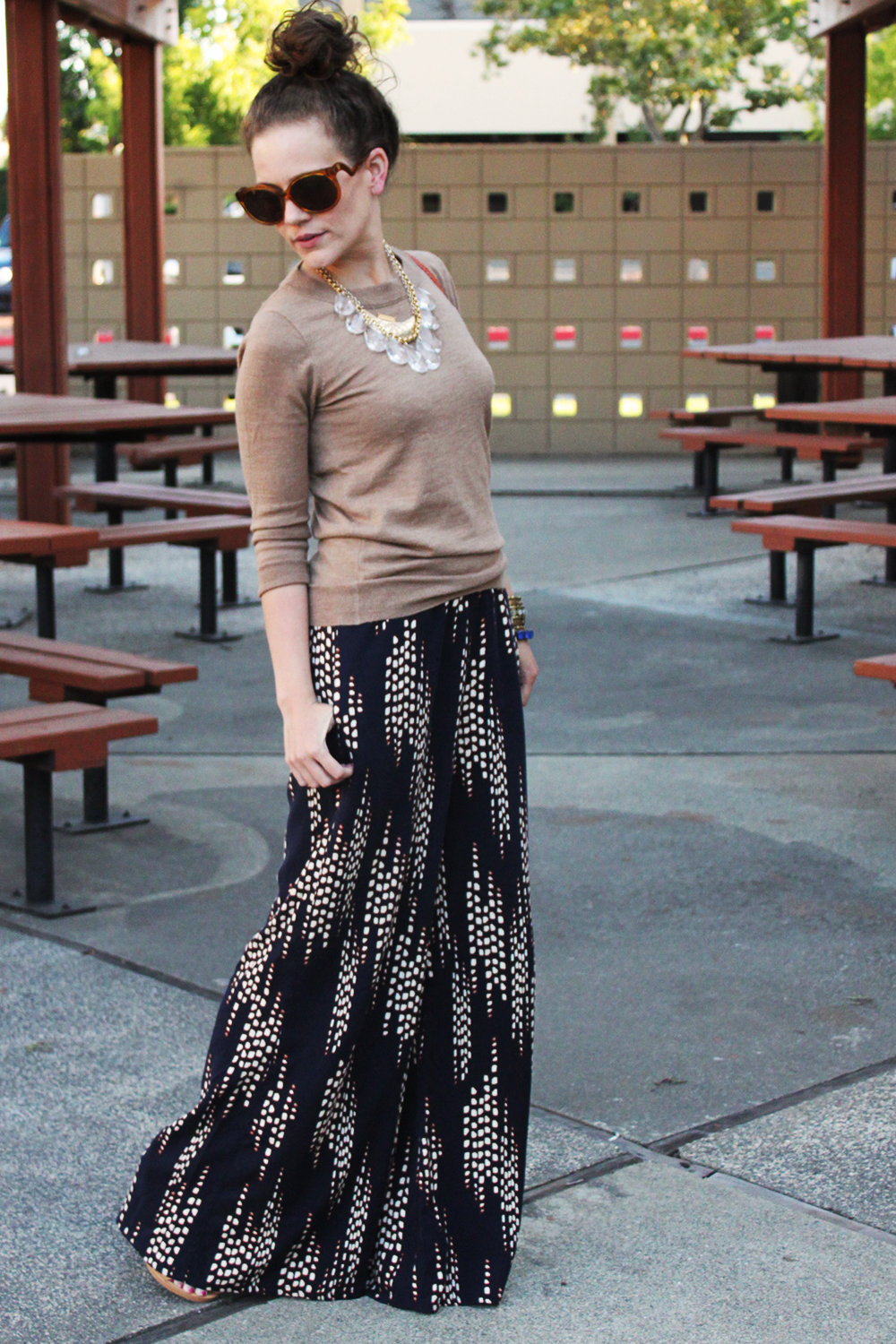 How to Wear Wide Leg Pants for Fall — undeniable style