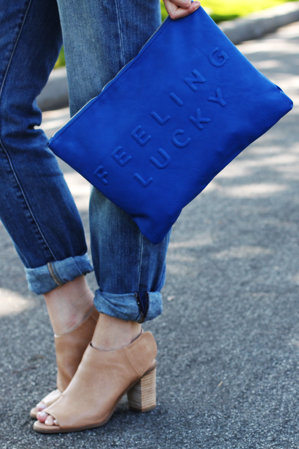 zara feeling lucky clutch