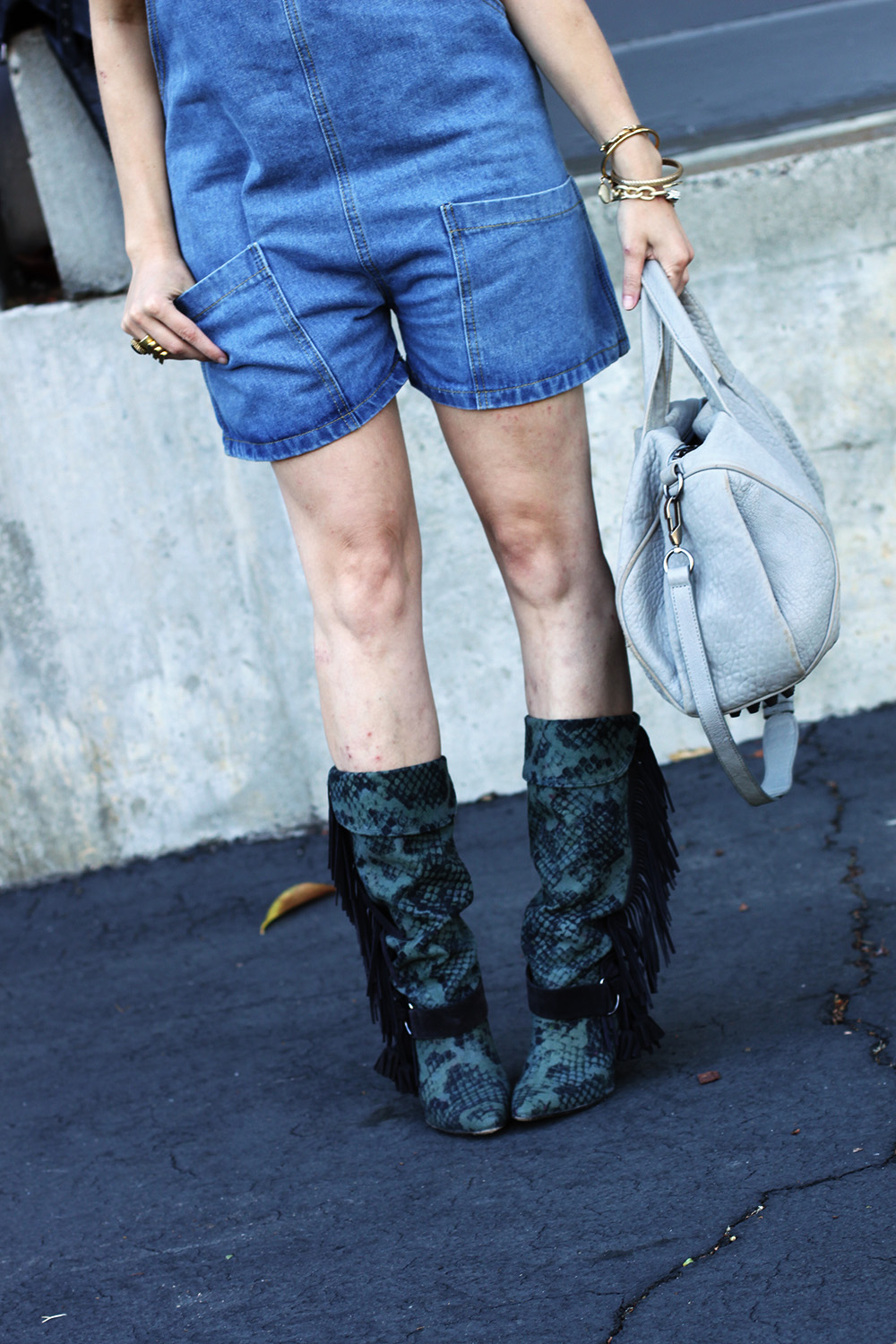 Isabel Marant boots on undeniablestyle.com