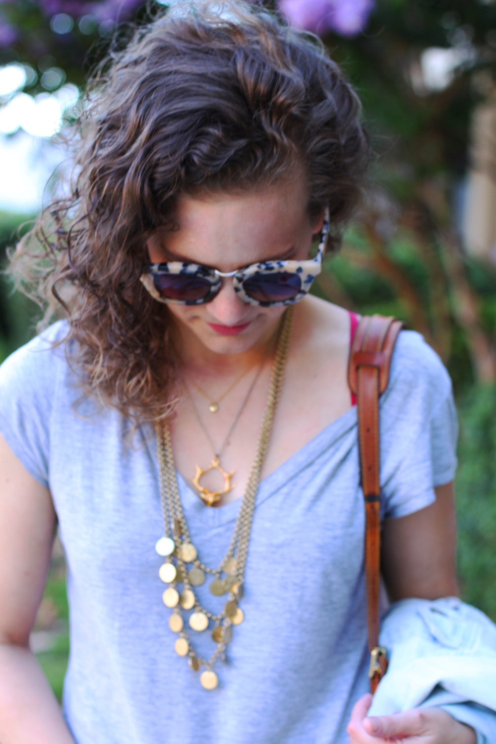 necklace layering perfection with Stella and Dot, Angel Court and Jeanine Payer
