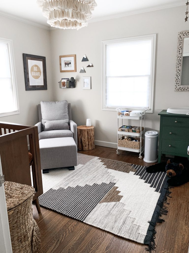 modern neutral nursery